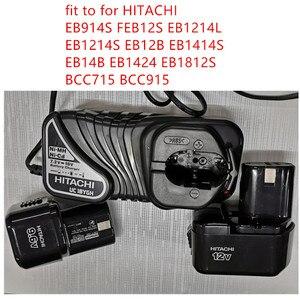 Image 1 - Новинка, зарядное устройство UC18YGH 220 240 В для HITACHI UC18YG EB914S февраль12s EB1214L EB1214S EB12B EB1414S EB14B EB1424 eboors BCC715 BCC915