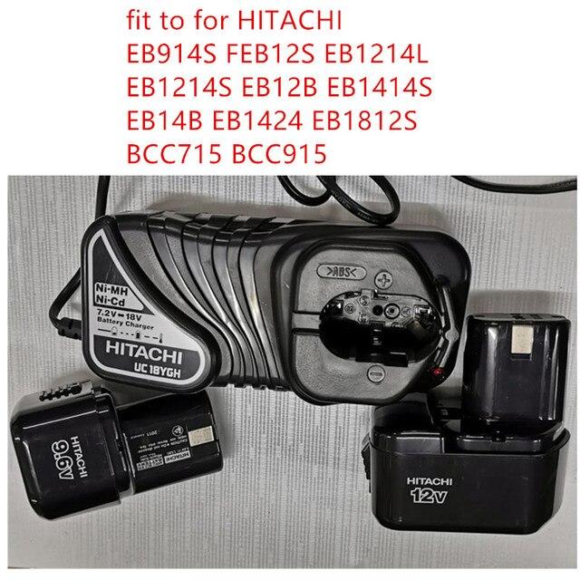 Новинка, зарядное устройство UC18YGH 220 240 В для HITACHI UC18YG EB914S февраль12s EB1214L EB1214S EB12B EB1414S EB14B EB1424 eboors BCC715 BCC915