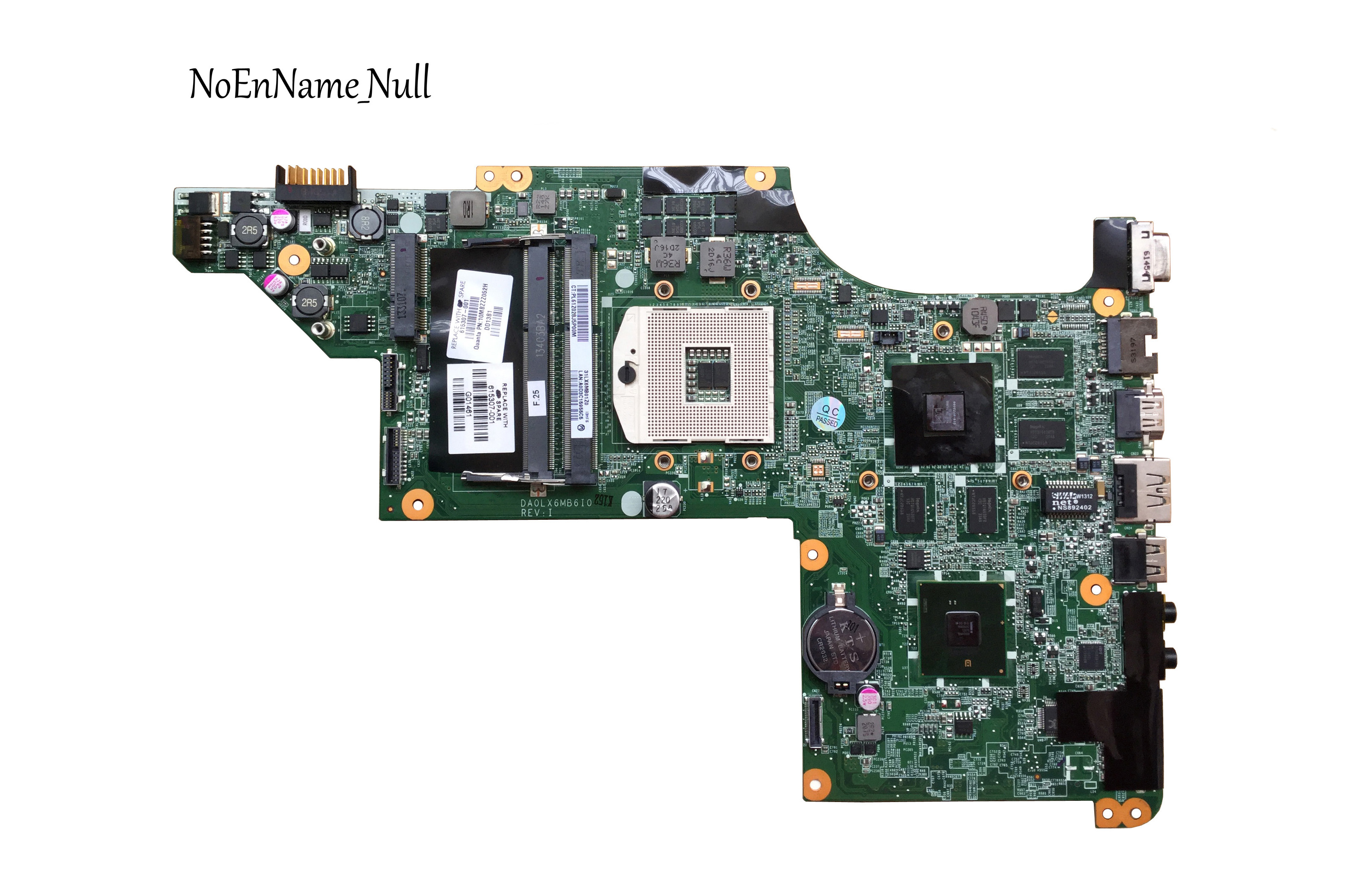 605320-001 Free Shipping Original Laptop Mainboard 615307-001 For HP Pavilion DV7 DV7-4000 Motherboard DA0LX6MB6H1