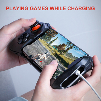 Wireless Gamepad For IOS Android Wireless Bluetooth Joystick BT4.0 Game Pad Handle Game Controller For Mobile Phone Trigger flydigi wee gamepad wireless bluetooth stretchable gamepad game joystick handle controller for android ios