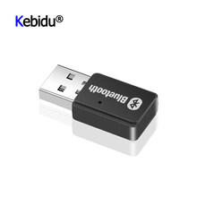 Mini USB Adapter Bluetooth 5.0 + EDR AD2P Sender Wireless Stereo Audio Musik Adapter Für Windows 7/8/10/XP Linux Computer PC(China)