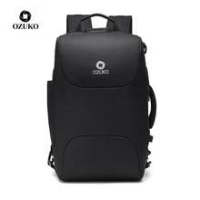 OZUKO Men Business Backpacks USB Charging 15.6
