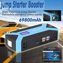 Charger Jump-Starter 69800mah-Car Cables Power-Bank Auto-Battery-Booster Starting-Device