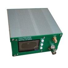 Nuova versione, da BGTBL FA 2 1Hz 6GHz contatore di frequenza Kit misuratore di frequenza funzione statistiche 11 bit/sec + adattatore di alimentazione