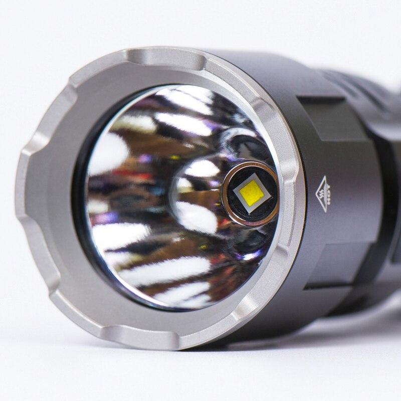 Nouveau KLARUS XT11GT CREE XHP35 LED 2000 Lm 4 Mode tactique lampe de poche LED + Port USB gratuit et 18650 Battey pour l'auto défense - 4