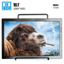10.1 inch 2560*1600 FHD portable monitor HDMI LCD screen for Ps4 Xbox PC computer laptop IPS gaming monitor display mini size 10 1 inch 2k touch screen ips portable gaming monitor pc led lcd display 11 6 small mini hdmi tablet computer monitor for ps3 4