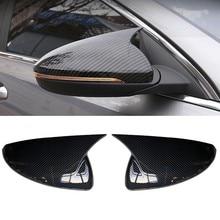 Para kia forte k3 cerato 2019 2020 espelho retrovisor capa guarnição espelhos retrovisores capa adesivo peças de automóvel estilo do carro