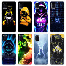 Dj homem antigas máscara caso macio para samsung galaxy a02 a10 a11 a12 a20 a20e a21 s a22 a30 a31 a32 a01 núcleo capa de silicone
