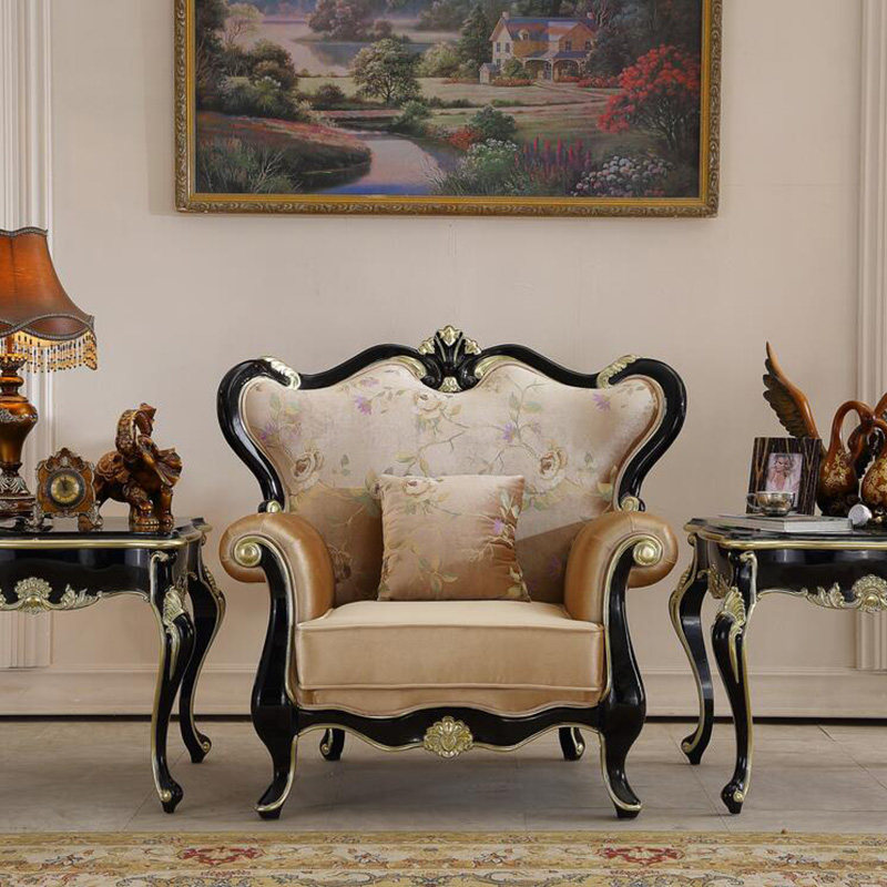 Chinese Royal Rosewood Furniture Sofa Bed Set 1 2 3 Seats Triple