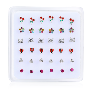 36pcs/pack 925 sterling silver