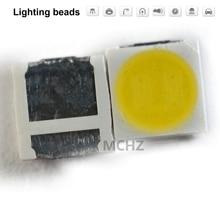 цена на 200pcs 3030 1W  white Replace 3528 2835 3030 Samsung SEOUL LG OSRAM CREE Stop light stuck light car 6000K 6500K 3V-3.6V 350MA