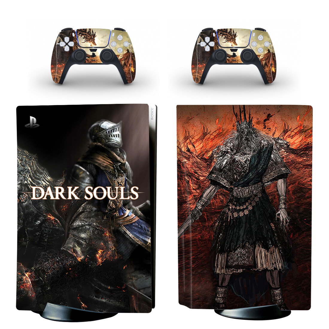 decalque capa para playstation 5 console &