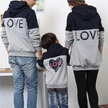 Семейные комплекты для влюбленных пар; Зимняя утепленная верхняя