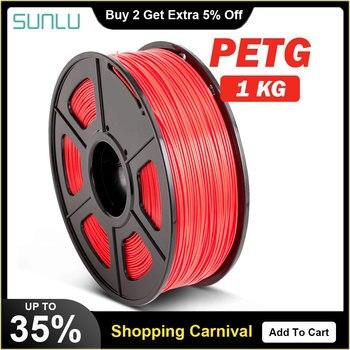 PETG 3D Filament 1.75mm 1KG 2.2lb PETG 3D Printer Filament Dimensional Accuracy +/- 0.02mm Translucence PETG Filament petg 3d printing filament 1 75mm 1kg 2 2lb petg 3d printer filament dimensional accuracy 0 02mm translucence refill red