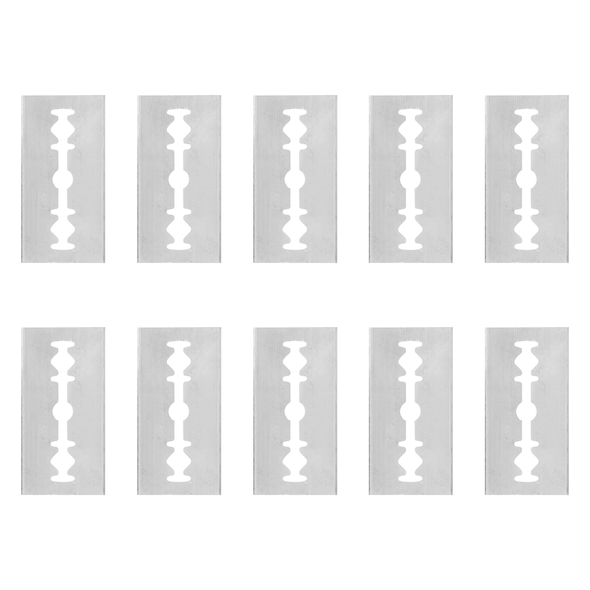 10 шт. аквариум водоросли Чистящая бритва Нержавеющаясталь коррозионно-стойкие лезвие аквариума инструмент для очистки аквариумных прина...