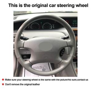 Image 2 - Carro auto volante capa envoltório de couro artificial para toyota camry 2002   2004 avalon 2002   2004 highlander 2001   2003