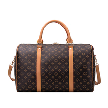 Large-capacity Men's and Women's Travel Bag Classic Printing Fashion One-shoulder Messenger Portable Travel Bag for Easy Travel