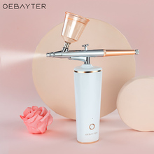 Airbrush Nano Hydrating Spary Facial Sreamer Portable Facial Water Oxygen Injection Skin Care Tool Face Moisturizer Humidifier