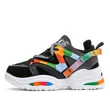 Womens Platform Sneakers Women Flats Sneakers Shoes
