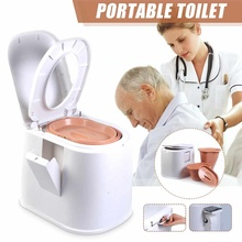 Comfort Portable Toilet Mobile Toilet Travel Boating Fishing Camping Commode Potty Outdoor/Indoor Mobile Toilet Seat Stool