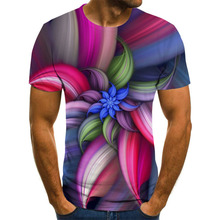 2020 Summer fashion T-shirt Men/women Streetwear O-Neck Short Sleeve Tees Funny Colorful geometry Male Clothes Casual 3D Print11
