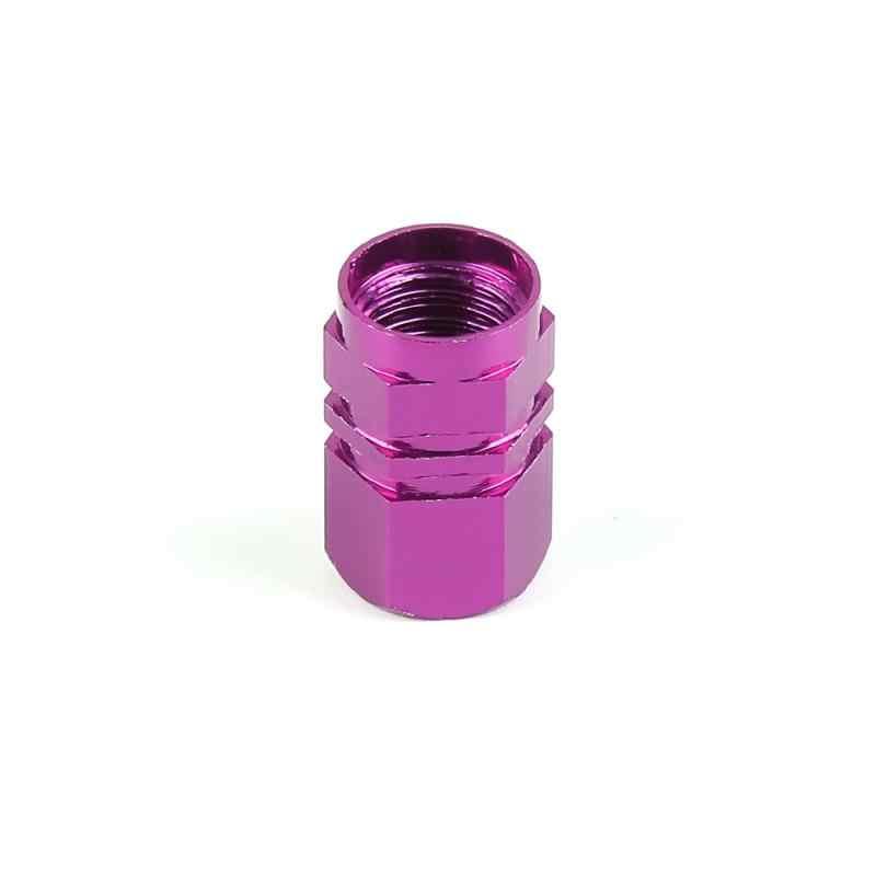 Nuevo Universal 4 Uds para vástago de válvula de neumático de coche perno de Tapas-en aluminio Theftproof tapas de válvula de rueda de coche válvulas de neumáticos tapones de válvula de vástago de neumático