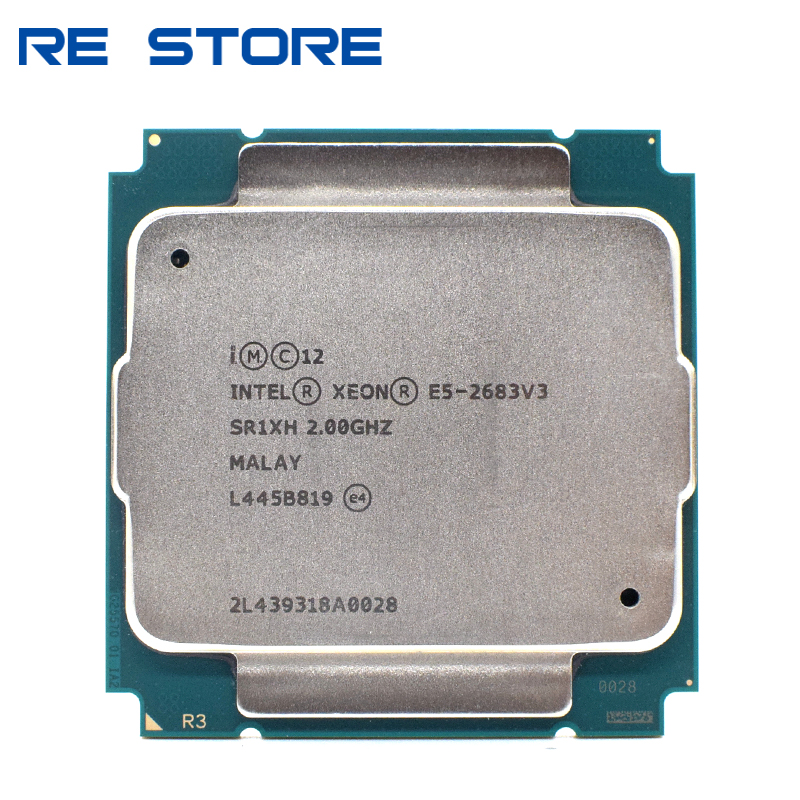 Процессор Intel Xeon E5 2683 V3 SR1XH 2,0 ГГц 14-Cores 35M LGA 2011-3 E5 2683V3 cpu
