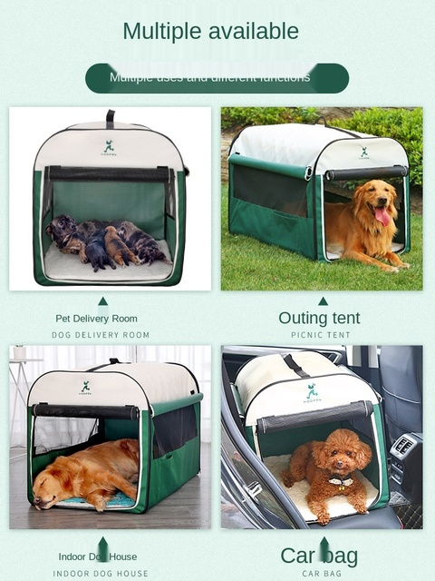 """""""Special Pup""""  Dog Kennel Sleeper Tent  3"""