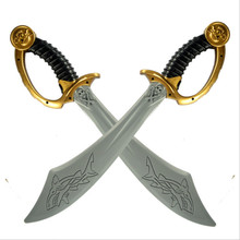 Skull Pirate PU Sword Cosplay Pirate Weapon Stage Performance Simulation Props Snake Body Sword Toy Sword Weapon