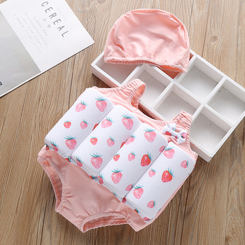 Float Baby Swimwear Girl Detachable Swimwear Siamese Training Swimming 2020 Kids Pool Float Suits Swimsuit