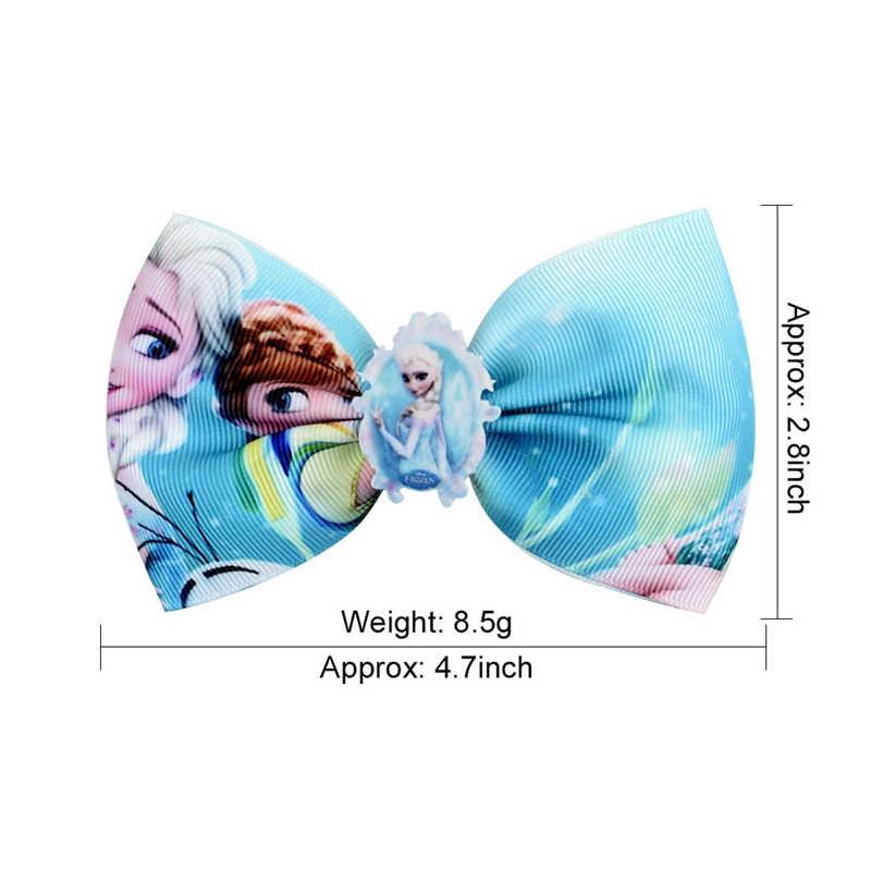 디즈니 냉동 4.7 인치 수제 머리핀 아이 헤어 그립 매일 모자를 쓰고 있죠 Accessoires 여자 공주 코스프레 모자를 쓰고 있죠 머리 장식