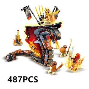 Image 4 - New Ninja Ninjagoingly Dragon Building Block KAI JAY COLE ZANE Lloyd Action Figures Toys for Children Gifts