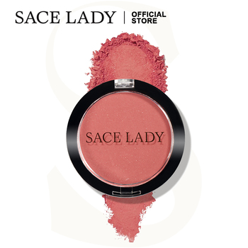 SACE LADY Face Blush Makeup Long Lasting Pigmented Rouge Matte Natural Powder Baked Cheek Make Up Blusher Cosmetic Wholesale недорого