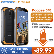 DOOGEE S40 4GNetwork Rugged Mobile Phone 5.5inch Display 465