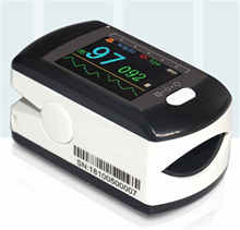 CMS50E Portable Fingertip Pulse Oximeter OLED SPO2 Blood Oxygen Saturation Heart Rate Monitor Saturator With Lanyard Case