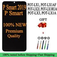 Pantalla táctil LCD para Huawei P Smart 100%, POT-LX1/LX1AF/LX2J/LX1RUA/LX3/LX1A, calidad AAA, para P smart 2019, 2018, novedad de 2019