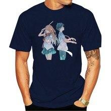 Maglietta da uomo Shigatsu Wa Kimi No Uso maglietta Unisex maglietta da donna maglietta