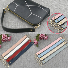 Fashion Replacement Serpentine Straps Colorful PU Leather Handbags Handle Short Belt Accessories For Women Bags 40cm