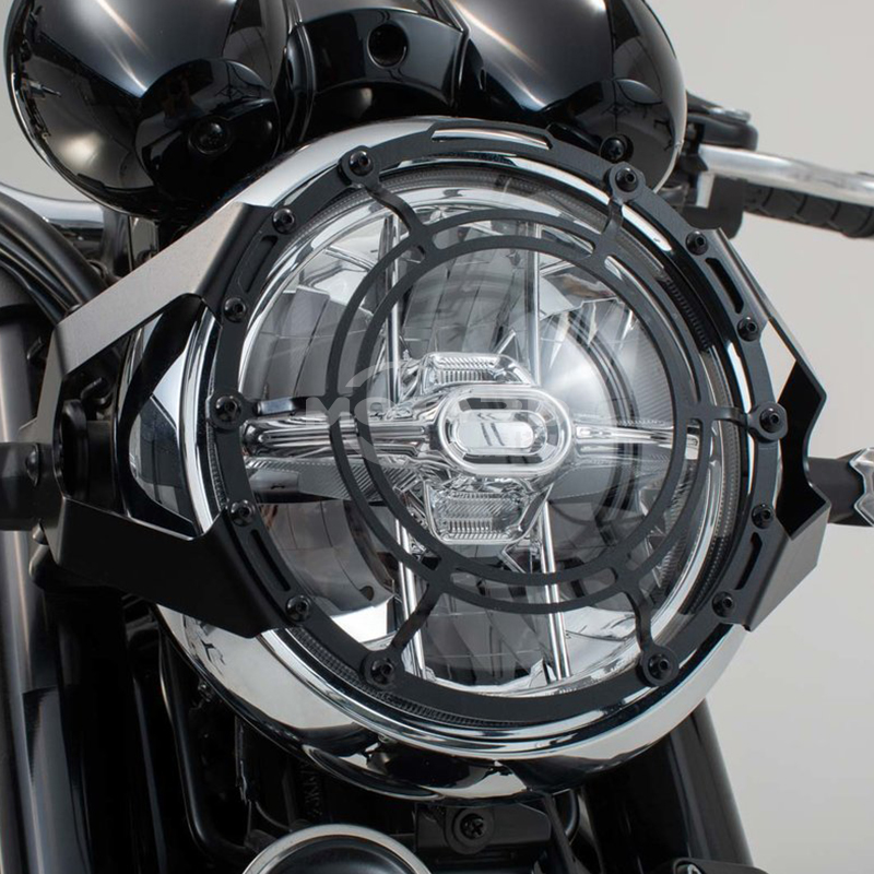 FOR <font><b>KAWASAKI</b></font> <font><b>Z900RS</b></font> 2017-2019 Motorcycle <font><b>Accessories</b></font> Stainless Steel Headlights Guard Protective Cover image