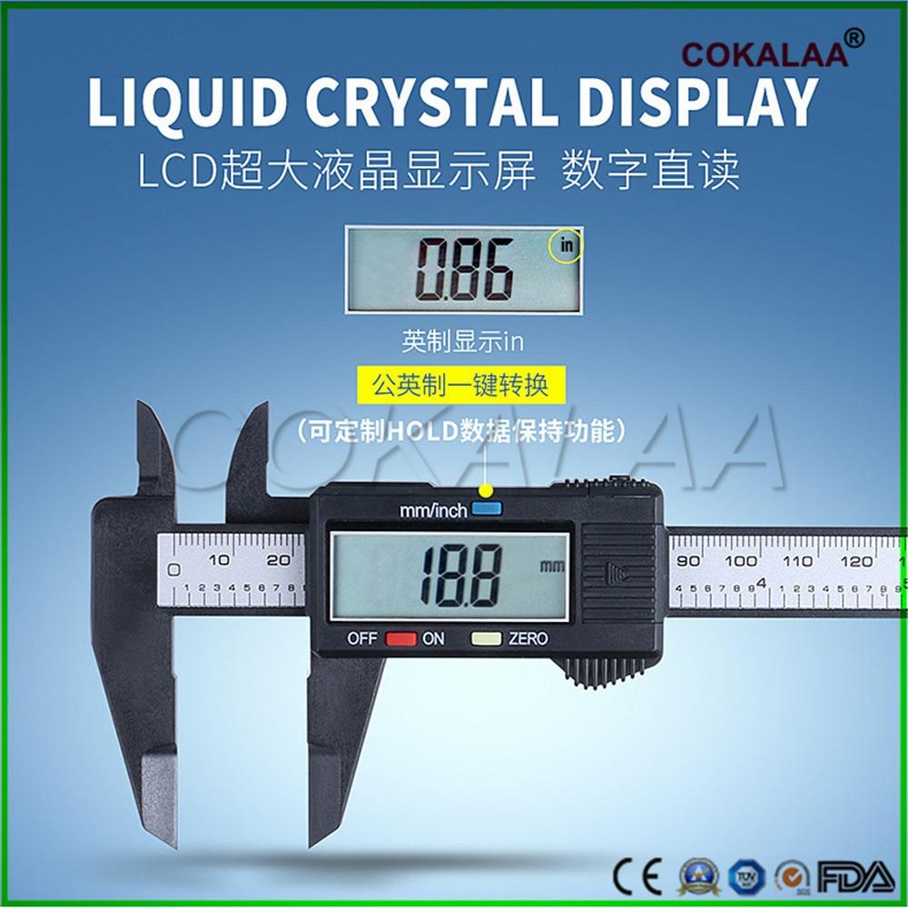 1pcs Dental Vernier Caliper Dentist Caliper Measuring Orthodontic Material Electronic Caliper With Digital Display