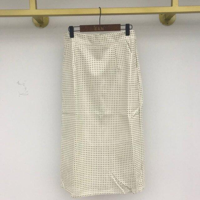 [EWQ]  Women Black Trend O Neck Mesh Hollow Out Leather Short Sleeve Top+High Waist Buttock Skirt Suit Spring Summer  45 4
