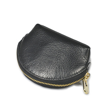 Beth cat Women Coin Purse Genuine Leather Card Holder Wallet Fashion Metal Frame Change Purse For Girls Original Small Coin Bag monfere metal frame women fashion vegan leather bag small designer strip metal frame tote case bag party purse cross body bag