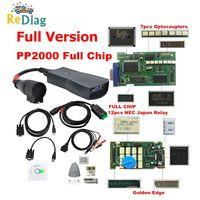 Lexia 3 pp2000 completo chip diagbox v8.55 com firmware 921815c lexi3 v48/v25 para citroen para peugeot obdii ferramenta de diagnóstico