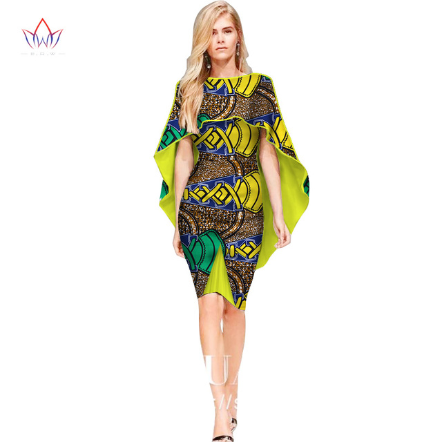 African Dresses For Women Fashion Design New African Print Dress O Neck African Attire For Ladies Ankara Dresses Formal Wy2450 Africa Clothing Aliexpress