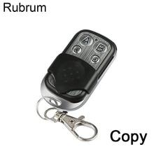 Rubrum 433.92 Mhz powielacz kopiowanie pilota 433MHZ pilot Clone klonowanie kod Car Key brama garażowa mechanizm otwierania drzwi