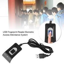 Lector de huellas dactilares USB compacto, escáner biométrico fiable de Control de acceso, sistema de asistencia fechadura biométrica