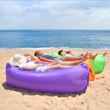 Напольные Матрасы для кемпинга надувная подушка для пикника дверной коврик быстрое наполнение надувной диван ленивый надувной мешок воздушная кровать спальный
