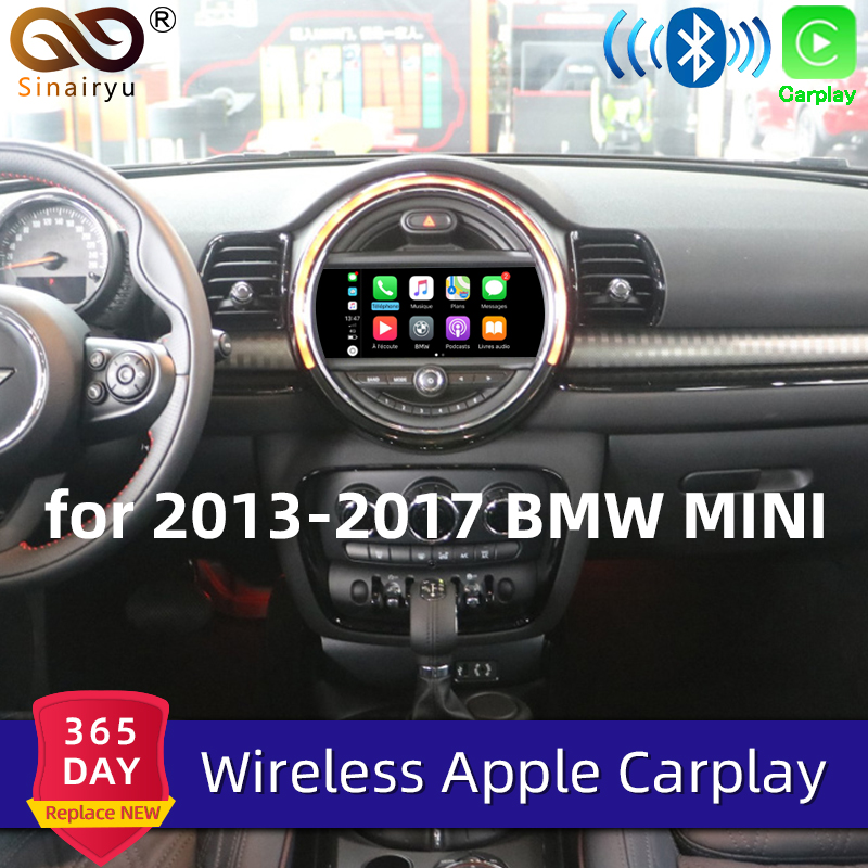 Sinairyu Drahtlose Apple Carplay Für BMW Mini NBT 8,8 inch/6,5 inch Bildschirm 2013-2016 Airplay <font><b>Android</b></font> <font><b>Auto</b></font> apple Mirroring <font><b>Auto</b></font> Spielen image