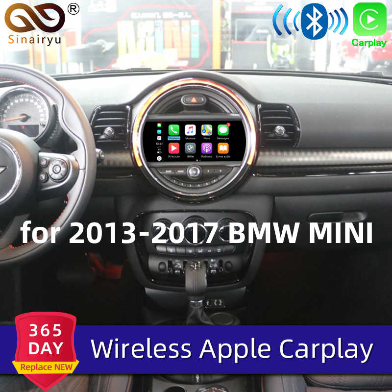 Sinairyu Nirkabel Apple Carplay untuk BMW MINI NBT 8.8 Inci/6.5 Inci Layar 2013-2016 Airplay Android Auto apple Mirroring Bermain Mobil