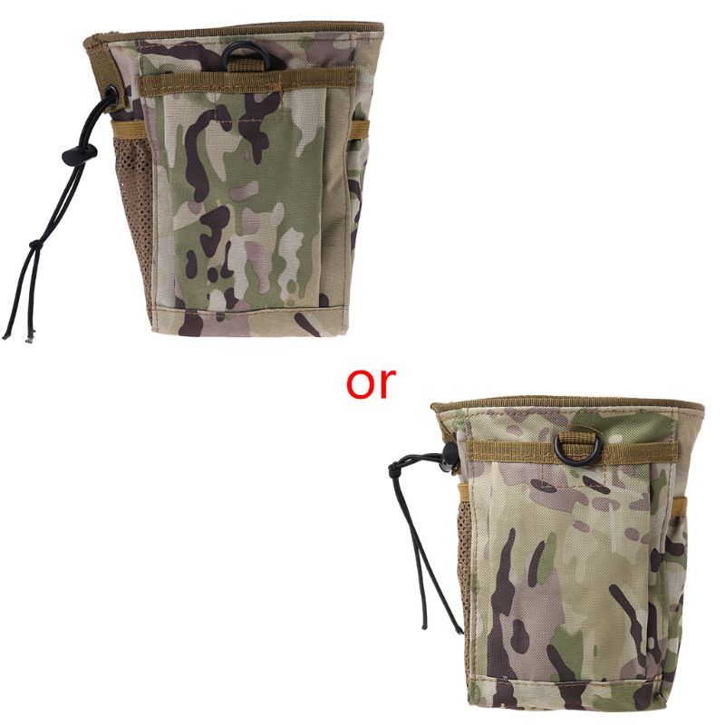Metal Detecting Finds Recovery Bag Pouch Digger Gold Treasure Waist Camo Luck 95AA